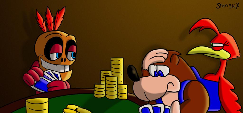 Poker Night by SpongicX