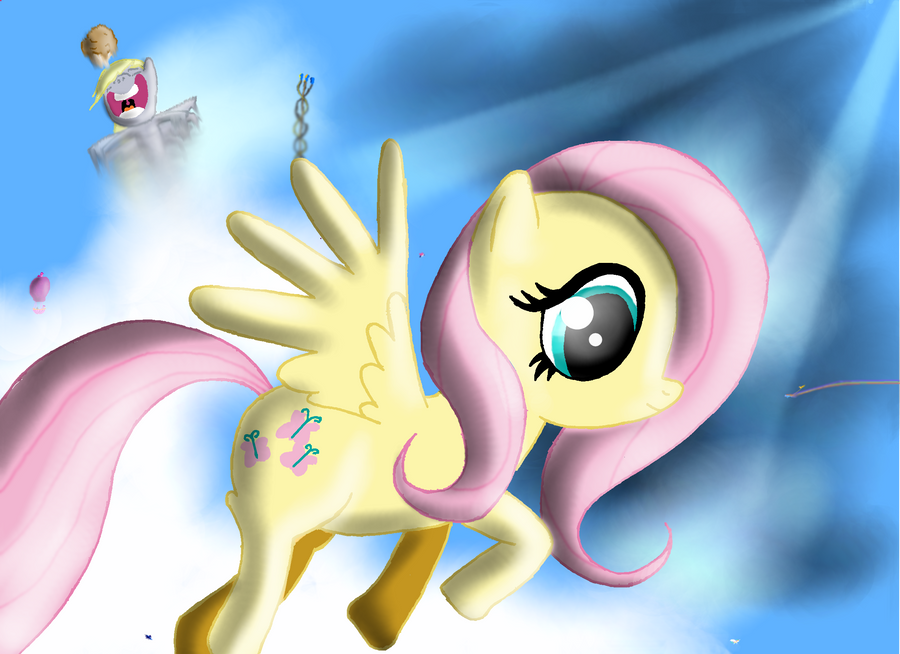 Church's Art Collection Fluttershy_and_many_tiny_ponies____by_churchcrusade-d4qogu4