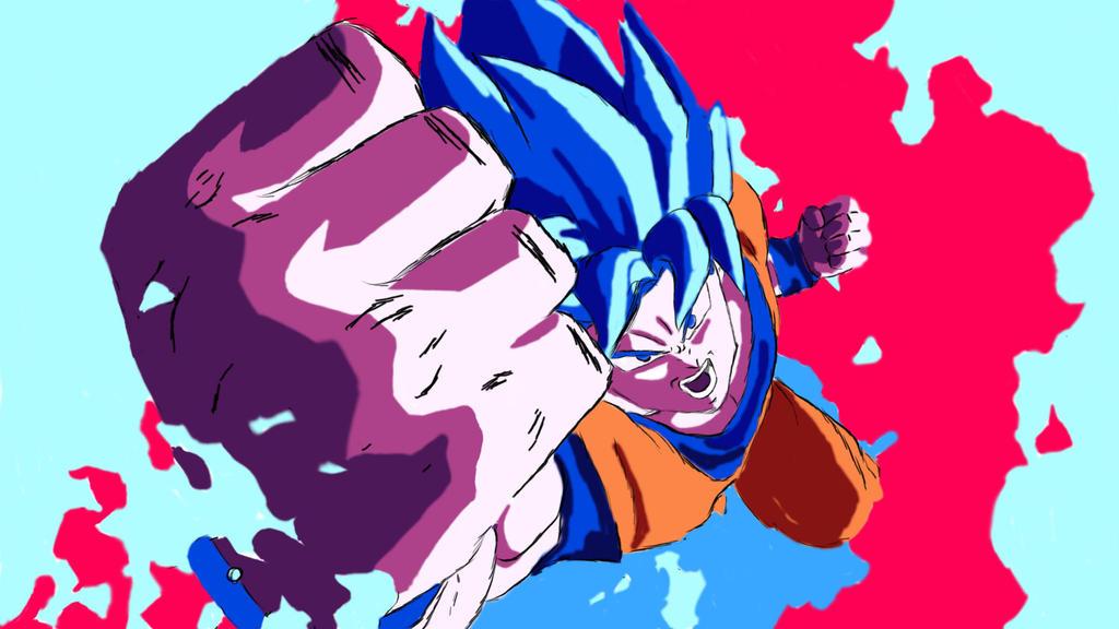 Kaio Ken Goku Fighterz by sjbdubb