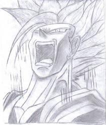 Goku Super Saiyan by Beyourselfmert