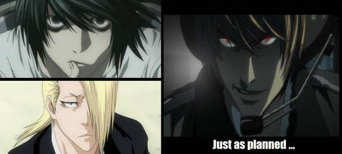 Death Note : Just as planned by Beyourselfmert