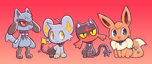 [Pokemon] PMU Quad Squad