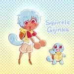 Squirtle Gijinka