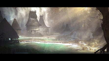 Waterfall Village - Mentorship Composition Demo