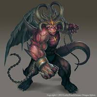 Greater Demon -Advanced lvl03- by Nekomancerz