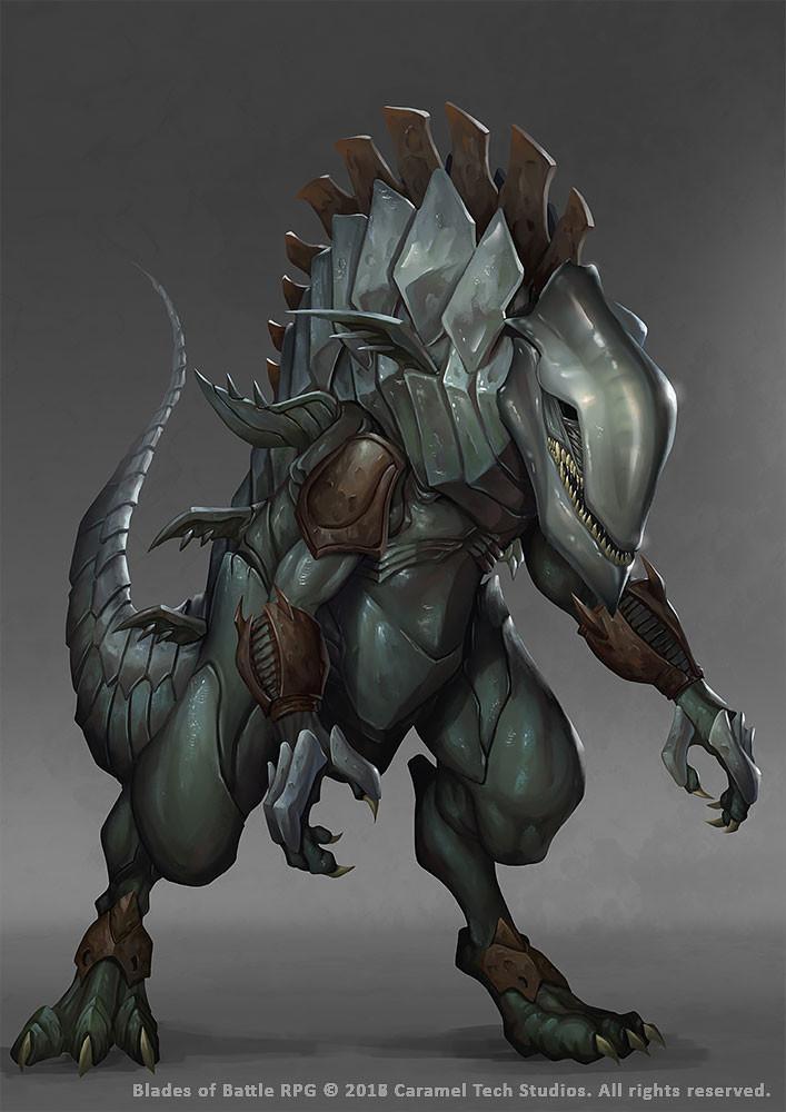 Symbiote Dragon by Nekomancerz