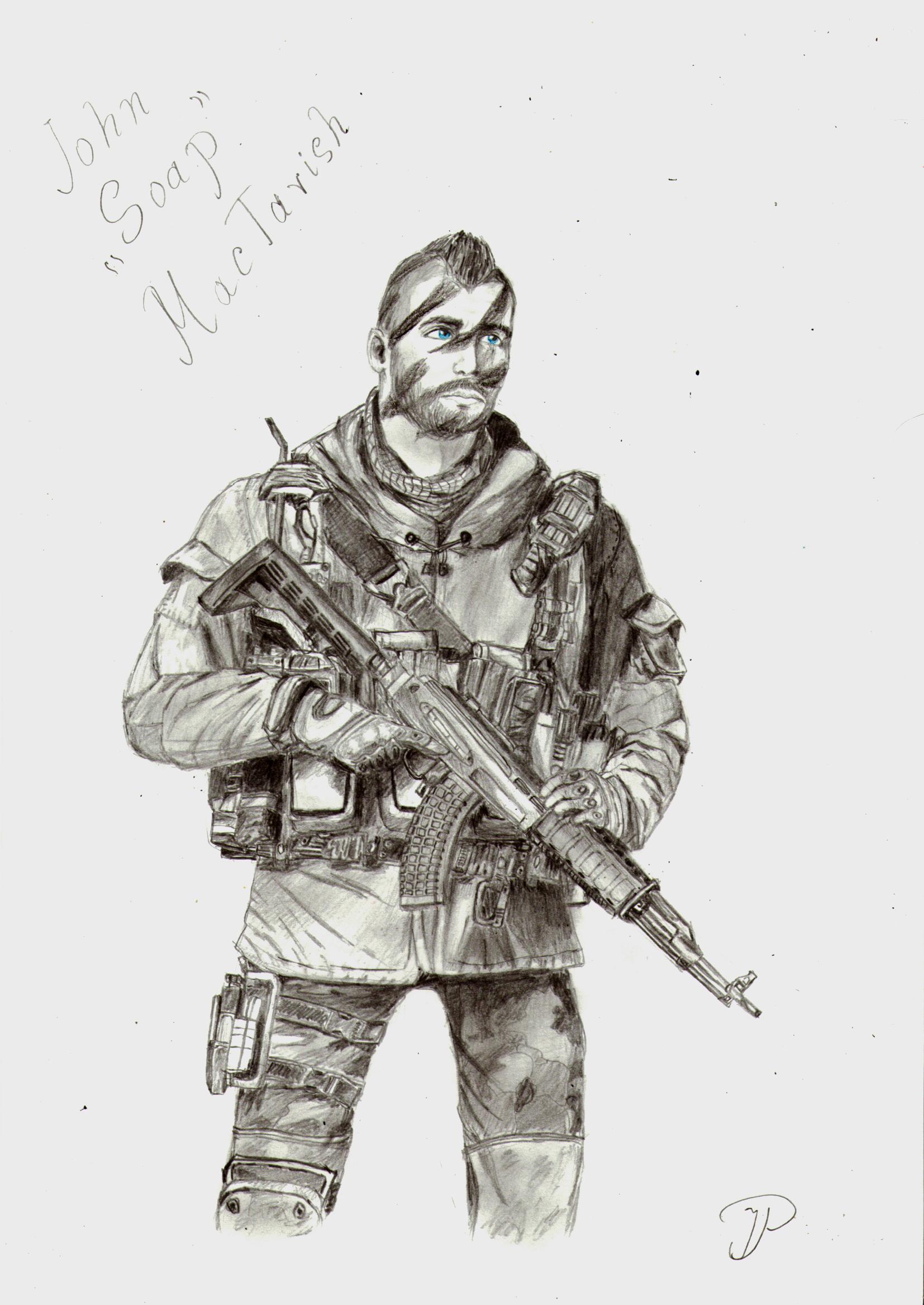 John Soap MacTavish by PKarina on DeviantArt