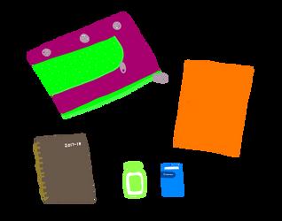 Bag Contents by Kelsyjones