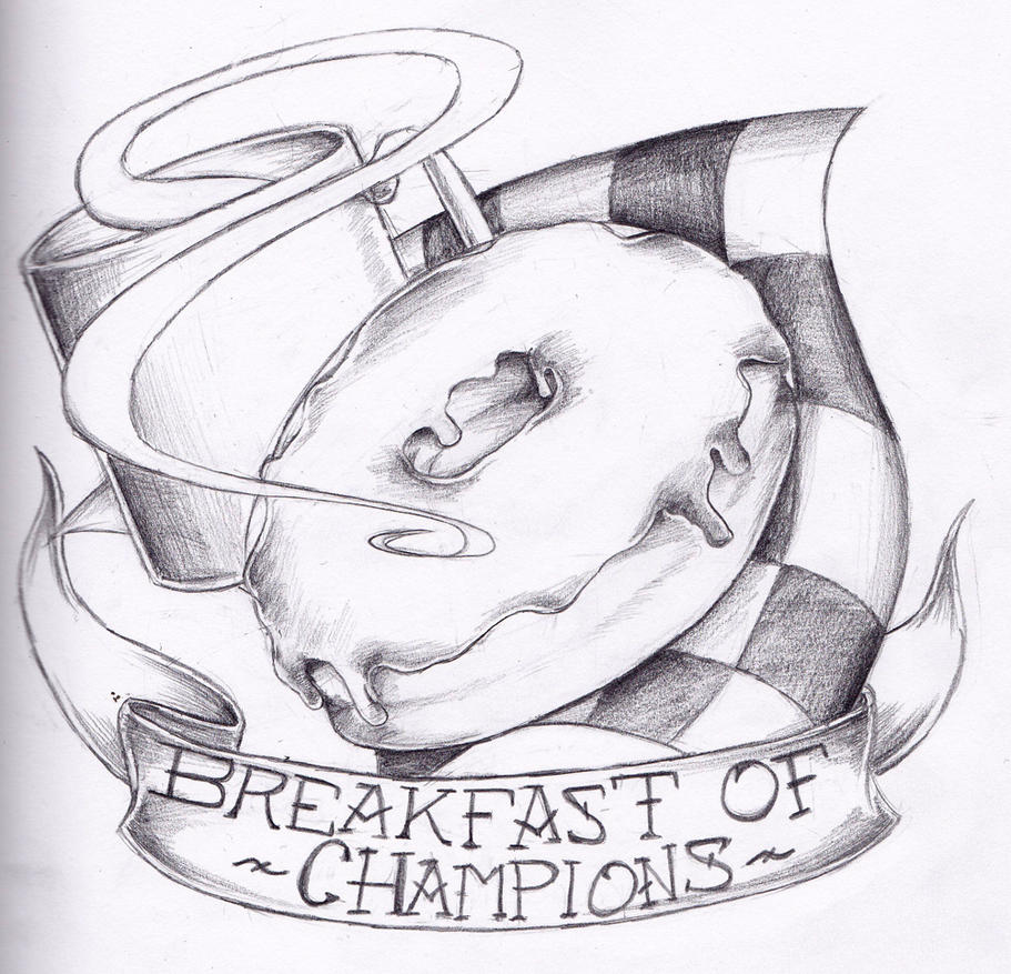 Breakfast of Champions by dragonmelde
