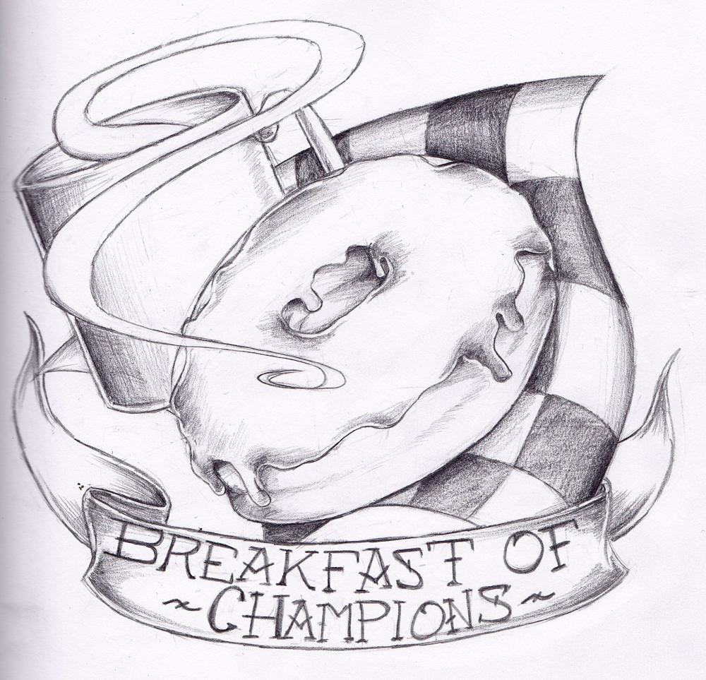 Breakfast of Champions by dragonmelde