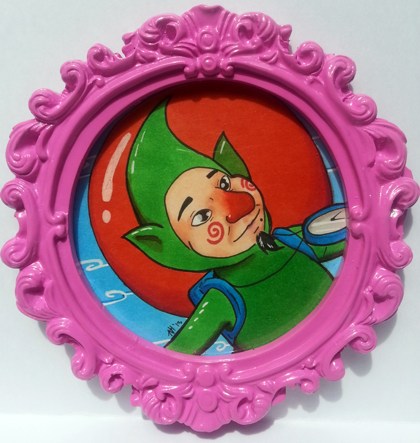 Tingle Portrait by dragonmelde