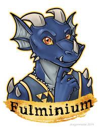 Fulminium Badge by dragonmelde