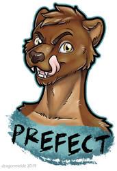 Prefect Badge by dragonmelde