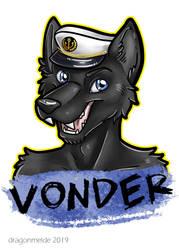 Vonder Badge by dragonmelde