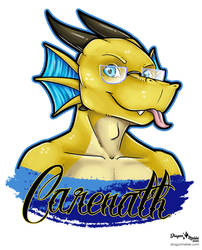 Carenath April Badge
