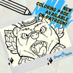 Oktoberfest Coloring Page