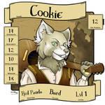 Cookie RPG Badge by dragonmelde