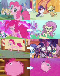 Pinkie pies abilities in pony life