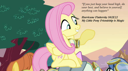 Hurricane fluttershy quote