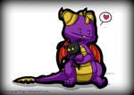 Spyro Hugs a Heartless