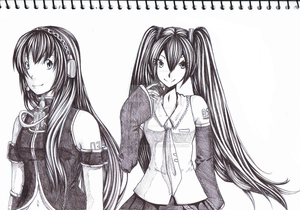 pen drawing example 1 by chocogingerfingers on deviantart