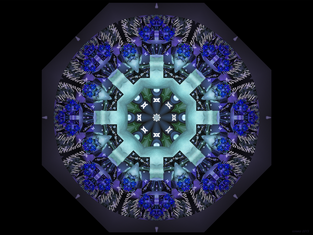 Creative Commons Attribution-Noncommercial-No Derivative Works 3.0 ...: scrano.deviantart.com/art/happy-birthday-mandala-397857272