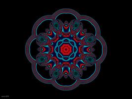 Peacock Wheel by ScraNo