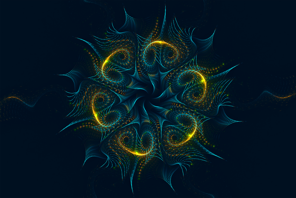 Fractal Wallpaper XXXVIX: Jellyfish by ScraNo