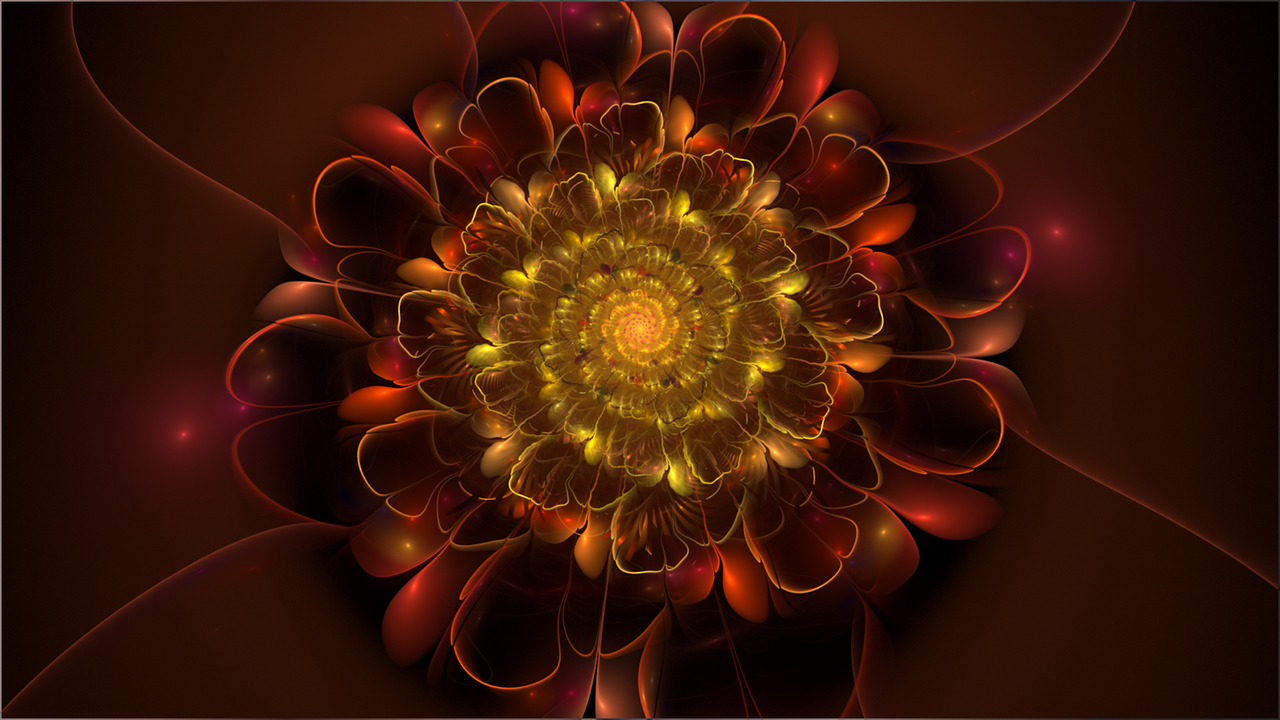 Fractal Wallpaper LXXII: Velveteen by ScraNo