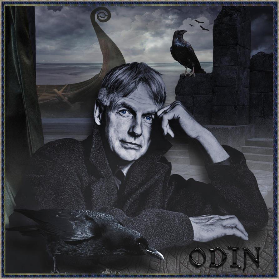 Asgard NCIS: 21st Century Odin by ScraNo