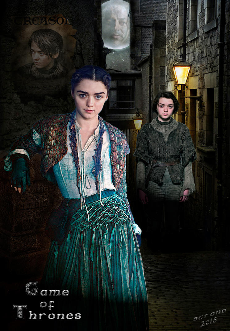 Arya Stark: The Road Is Long by ScraNo