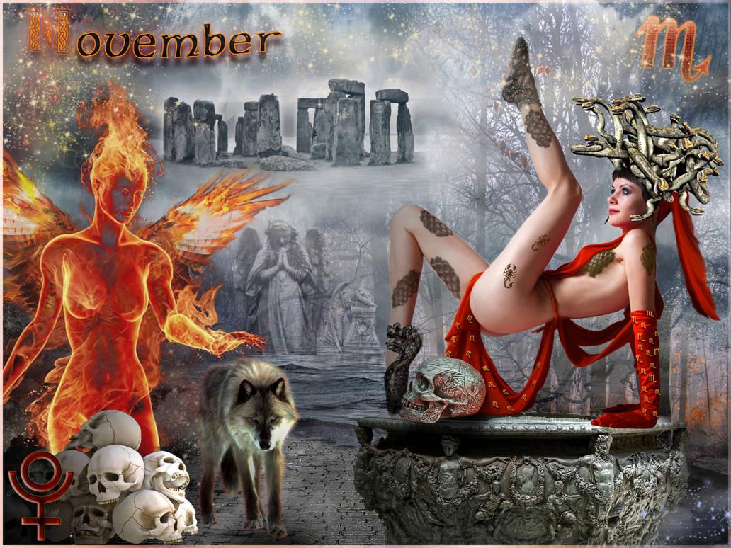 November by ScraNo