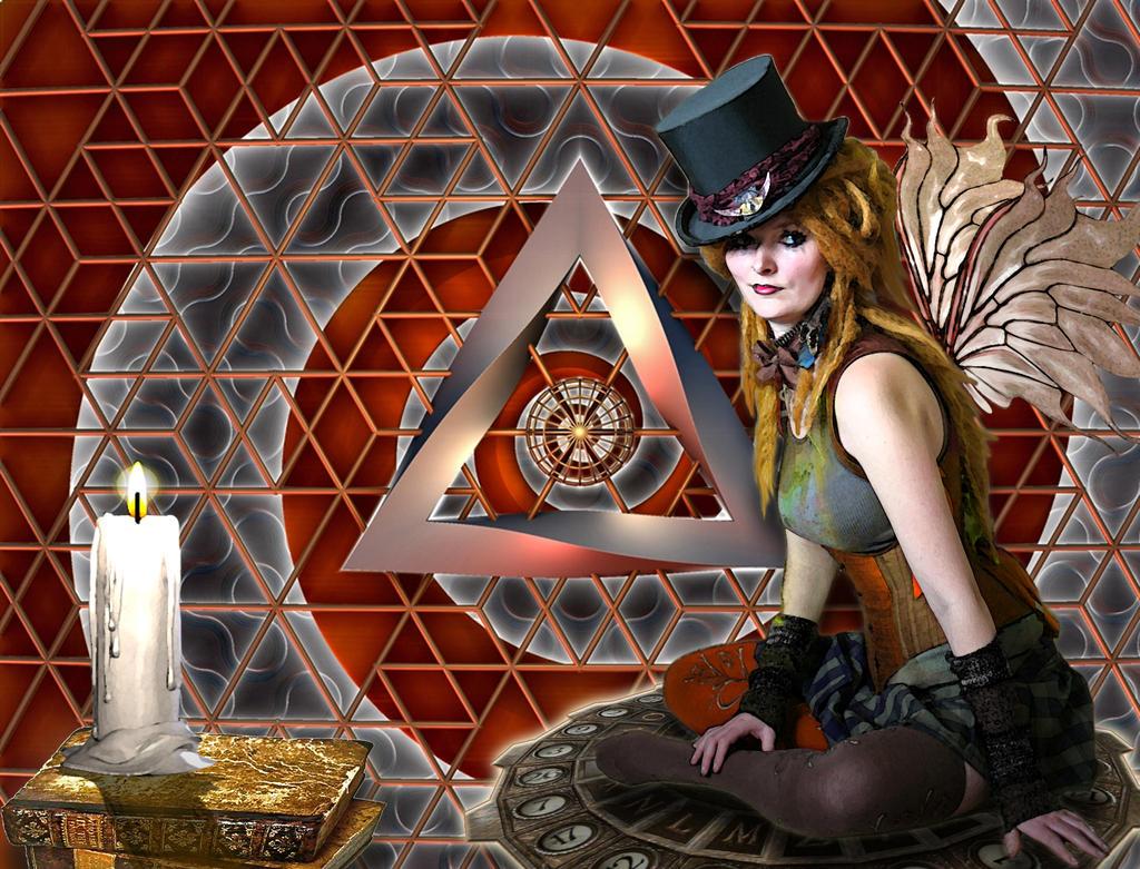 Steampunk Fairy by ScraNo