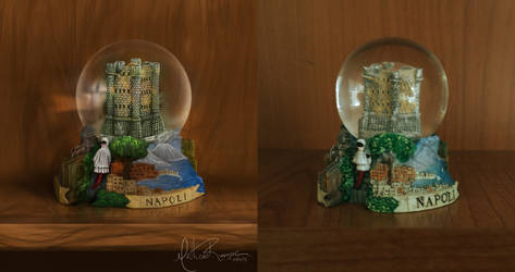 Napoli Snowball - Digital Painting