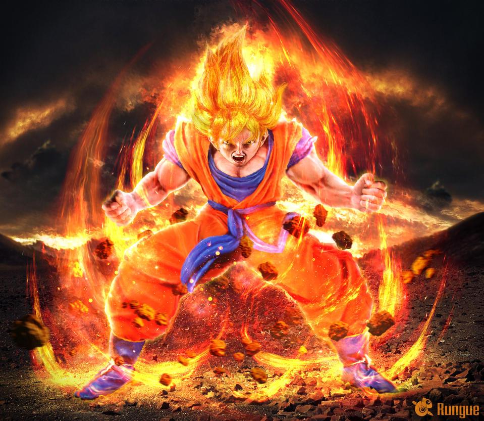 Goku SSJ by Rungue