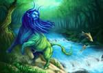 Aqueloo, God of the River