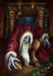 A Gift From Krampus by JaviRGRAPHICS