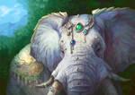 Jeweled Elephant