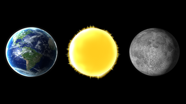 earth-sun and moon-#29
