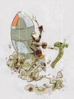 rocket man the 2nd by NoahWhyler