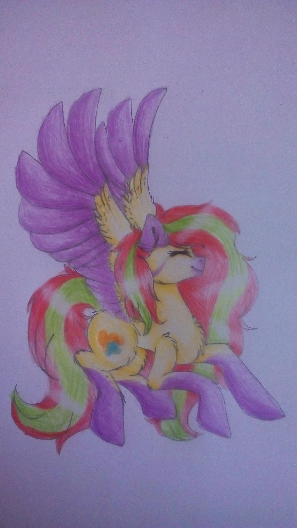 [MLP Fan Art] Millotta Paint by Cappuccinno