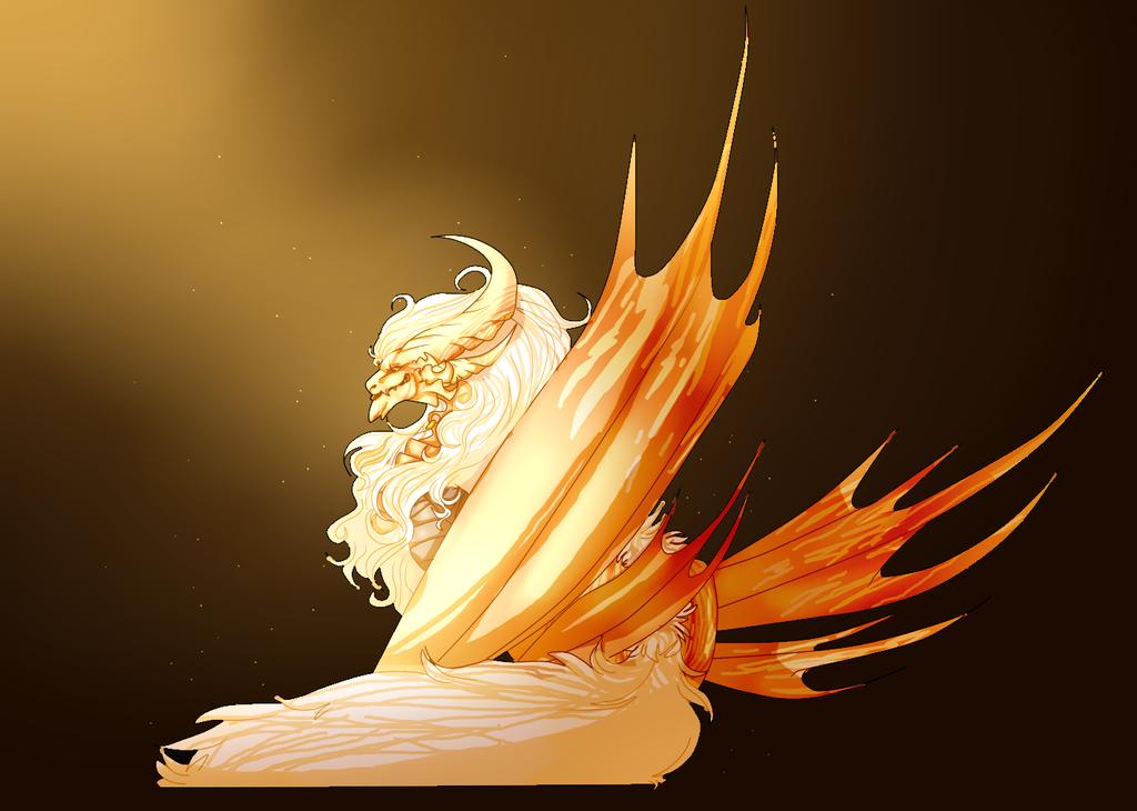 Dallas the Electric dragon by Cappuccinno