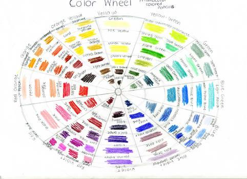 Prismacolor Colorwheel