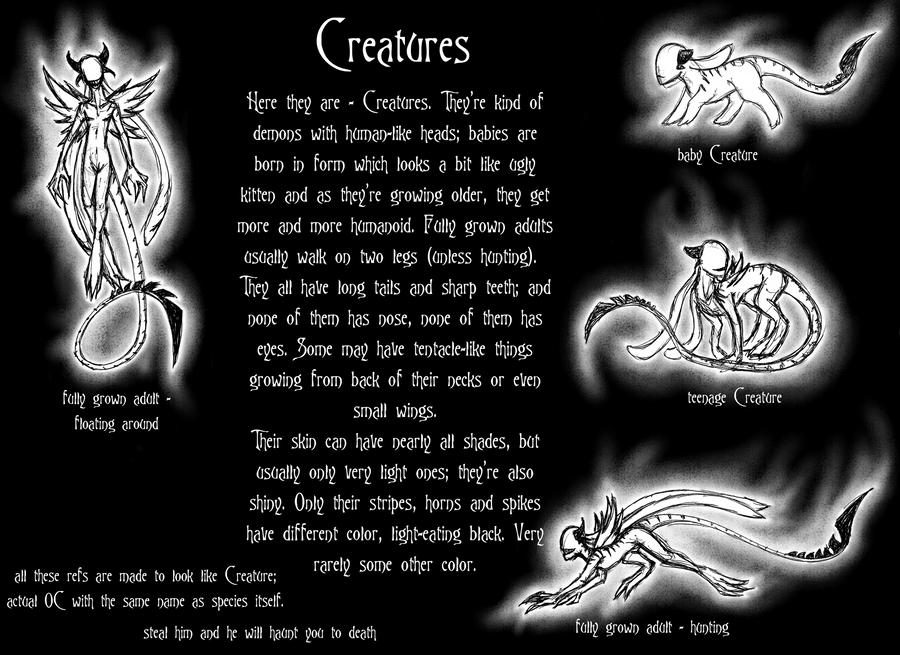 Creatures by Sailyonera