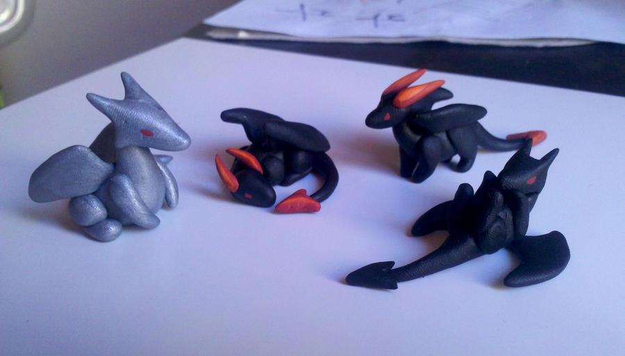 Four Dragons by Sailyonera