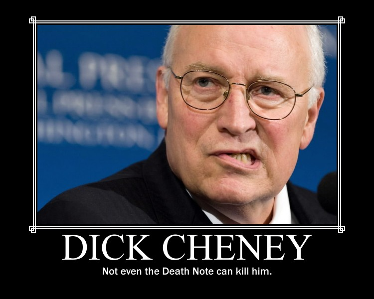 can dick kill you cheney