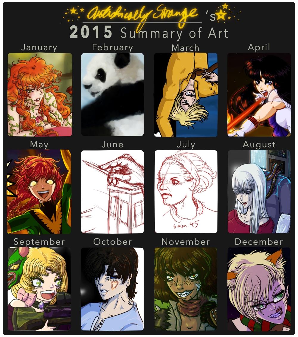 2015_summary_of_art_by_artisticallystran