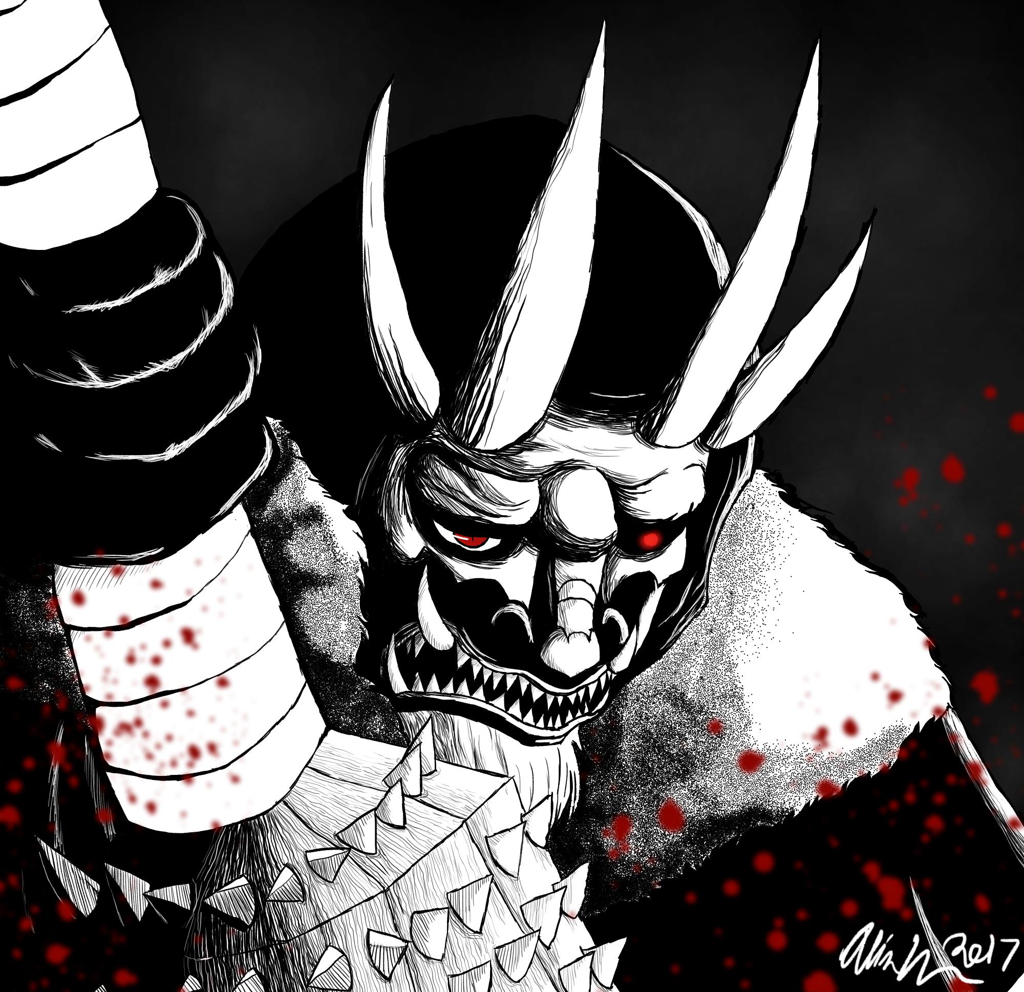 Wrath: The Demon Sin by artisticallystrange