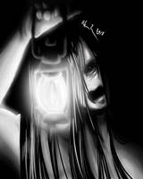Sketchtember 11: Ghost holding a Lantern by artisticallystrange