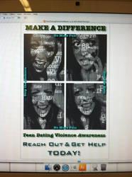 Teen Violence Poster